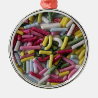 cake sprinkles christmas ornament