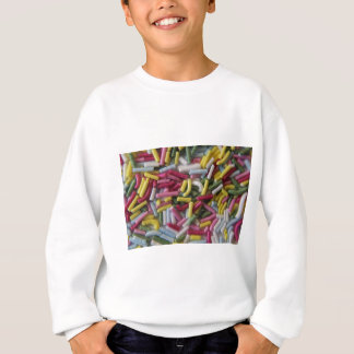 cake sprinkles sweatshirt