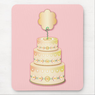 Cake template mouse mat