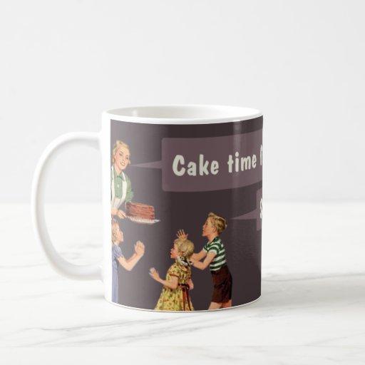 cake time mug