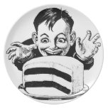 CakeKidPNG.png Party Plate