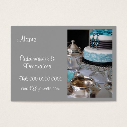 Cakemakers & Decorators Business Card