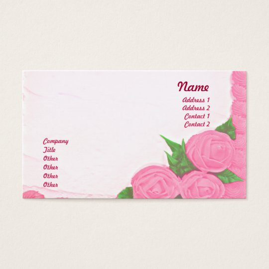 Cakes - Business Business Card