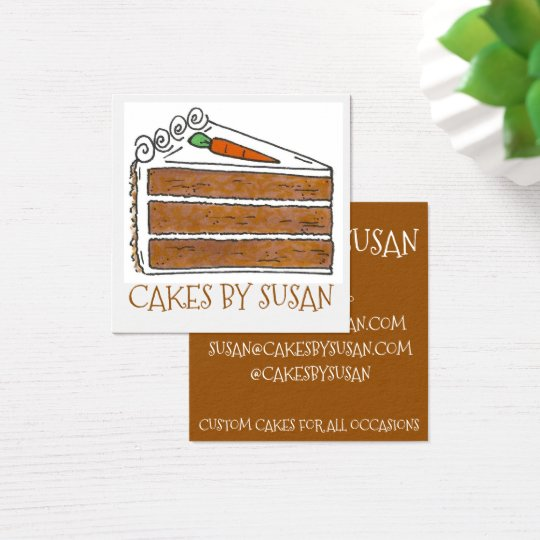 Cakes By Carrot Cake Decorator Slice Bakery Pastry