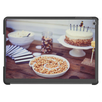 Cakes, cashew nuts and jelly beans case for iPad air