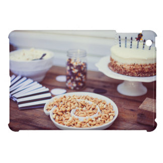Cakes, cashew nuts and jelly beans case for the iPad mini