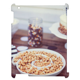 Cakes, cashew nuts and jelly beans cover for the iPad 2 3 4