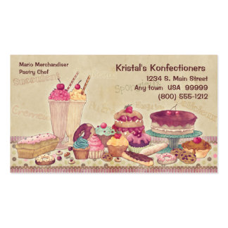 Cakes Pies Cookies Ice Cream Business Card