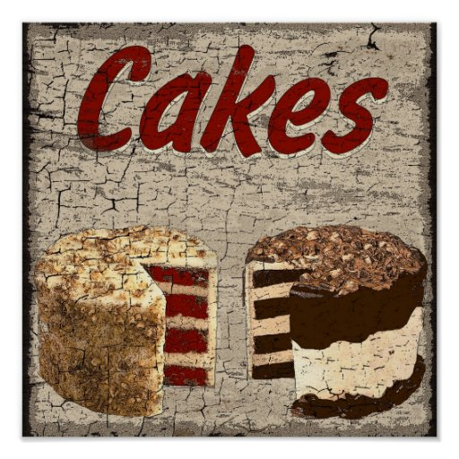 Cakes Poster