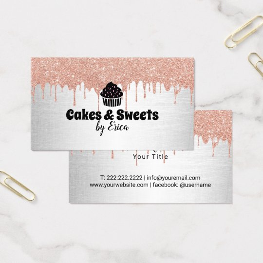 Cakes & Sweets Cupcake Home Bakery Modern Drips
