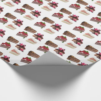 Cakes Wrapping Paper