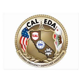 CAL-EDA Logo Postcard