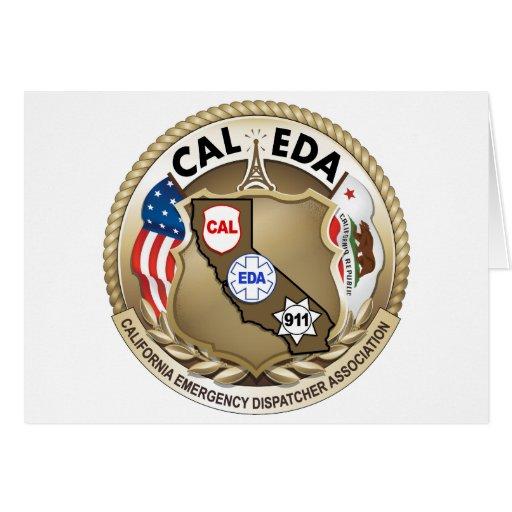 CAL-EDA Notecards (bottom open) Greeting Cards