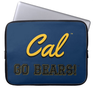 Cal Go Bears!: UC Berkeley Laptop Computer Cover