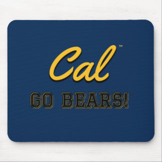 Cal Go Bears!: UC Berkeley Mousepad  #2
