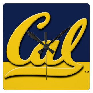 Cal Logo Clock
