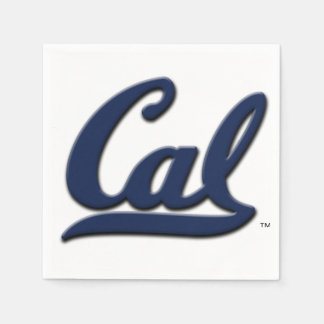 Cal Logo Disposable Serviettes