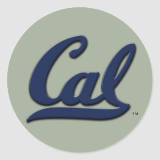 Cal Logo Round Sticker