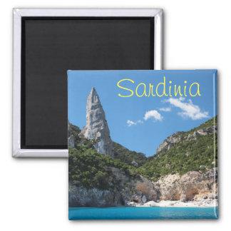 Cala Goloritze beach, Sardinia text magnet
