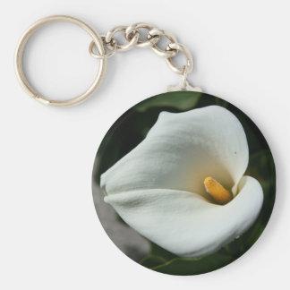 Cala Lily Flower Keychain