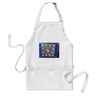 Cala Lily Mexican tiles Standard Apron