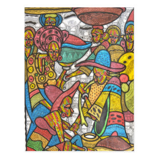 Calabash Market Postcard
