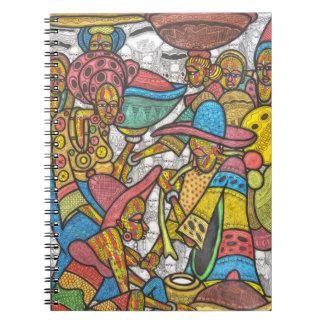 Calabash Market Spiral Notebooks