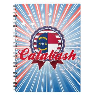 Calabash NC Note Book