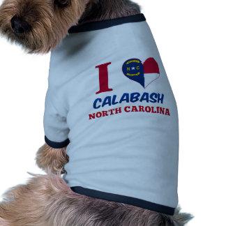 Calabash, North Carolina Pet Tee