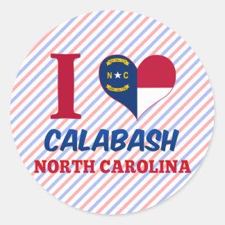 Calabash, North Carolina Sticker