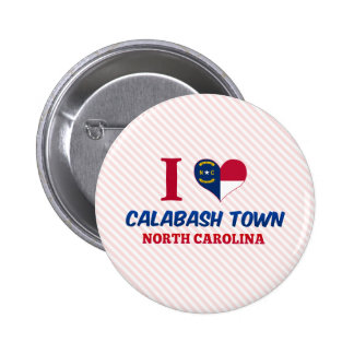 Calabash town, North Carolina Button