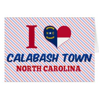 Calabash town, North Carolina Greeting Cards