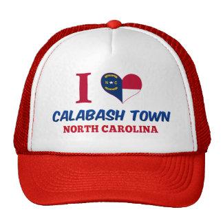 Calabash town, North Carolina Hats