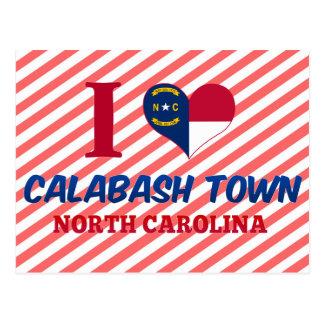 Calabash town, North Carolina Postcard