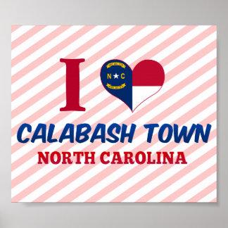 Calabash town, North Carolina Posters