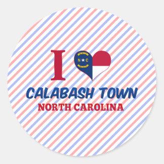 Calabash town, North Carolina Stickers
