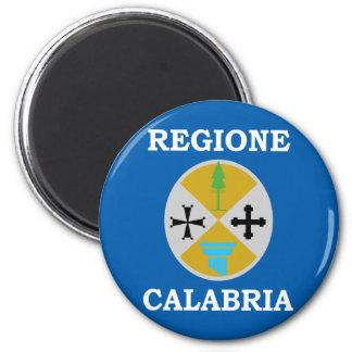 Calabria, Italy 6 Cm Round Magnet