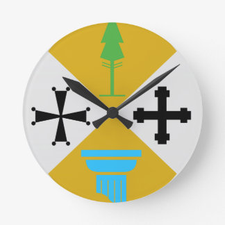 Calabria (Italy) Coat of Arms Round Clock