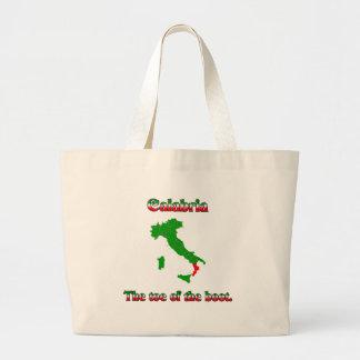 Calabria The Toe Of The Boot Jumbo Tote Bag