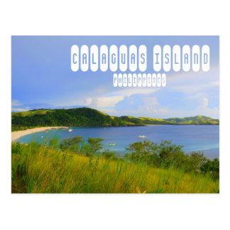 Calaguas Island Postcard