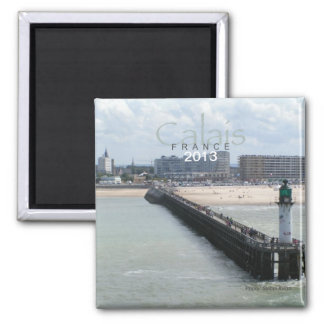 Calais France Photo Travel Souvenir Fridge Magnet