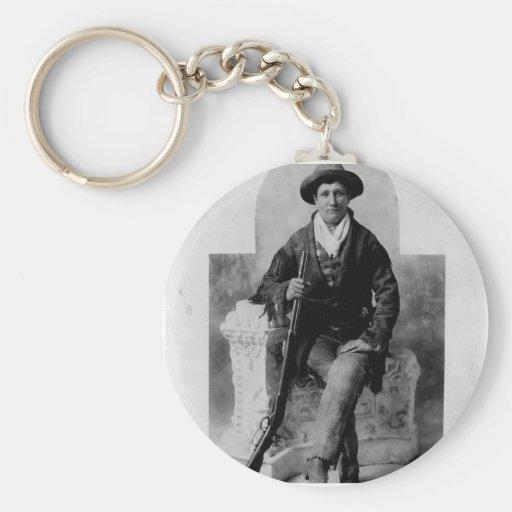 Calamity Jane Portrait Key Chains