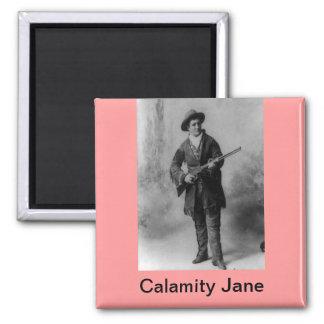 Calamity Jane Portrait Magnet