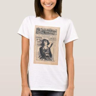 Calamity Jane Western Dime Comic Vintage T-Shirt
