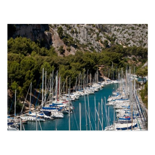 Calanque of Port-Miou Post Card