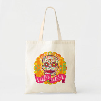 Calavera. Day of the Dead Mexican Sugar Skull Tote Bag