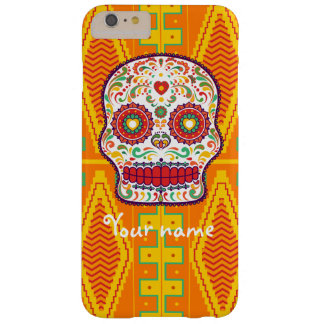 Calavera II. Day of the Dead Mexican Sugar Skull Barely There iPhone 6 Plus Case