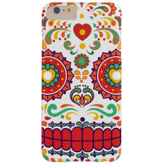 Calavera III. Day of the Dead Mexican Sugar Skull Barely There iPhone 6 Plus Case