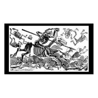 """Calavera of Don Quixote"" circa early 1900's Business Cards"
