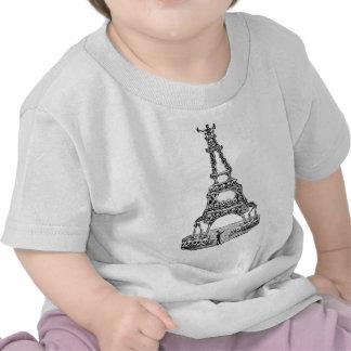Calavera of the Eiffel Tower c late 1800 s Shirt